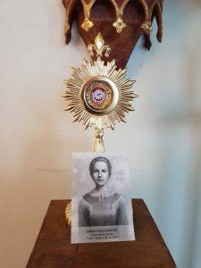 Anna Kolesárova Reliquiar